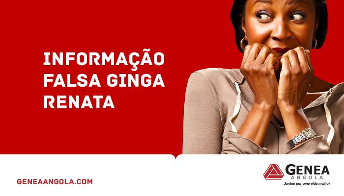 INFORMAÇÃO FALSA CONDOMÍNIO GINGA RENATA